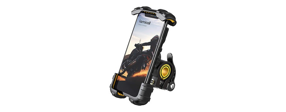 Lamicall Motorcycle Cell Phone Clamp