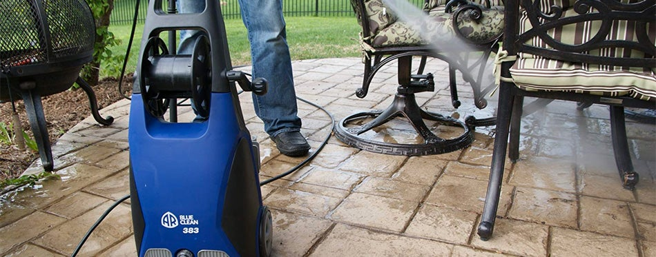 ar blue clean ar383 1,900 psi electric pressure washer