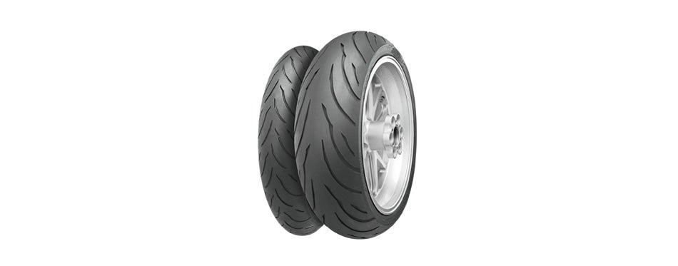 continental contimotion sport/touring motorcycle tire (front)
