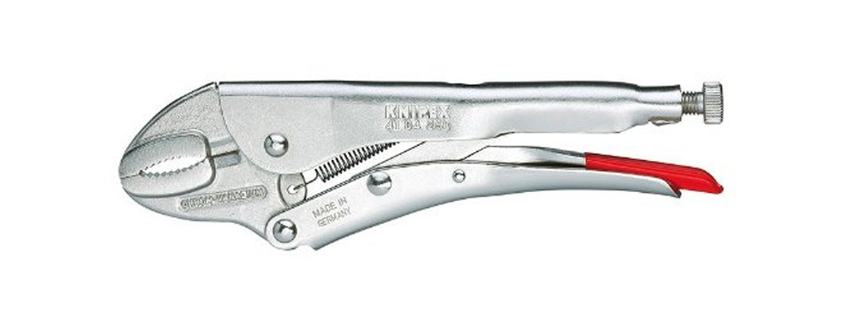 knipex 4104180 round jaw locking pliers