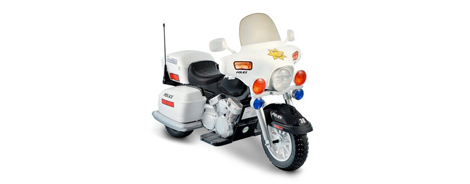 national products 12v police motorcycle
