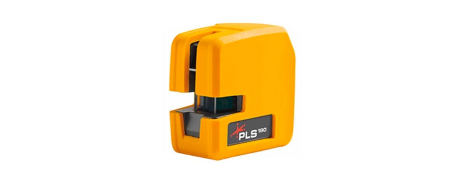 pacific laser systems new pls180 red cross line laser level pls 60521n