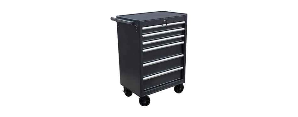 wen 74606 26 inch 6 drawer rolling tool cabinet