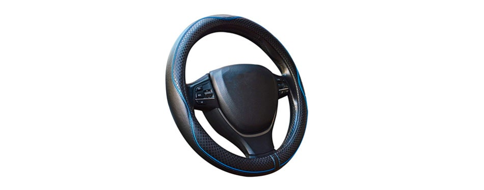 gomass car steering wheel cover