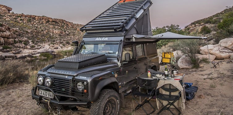 land rover defender icarus by alu-cab