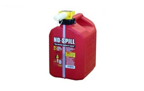 no spill can