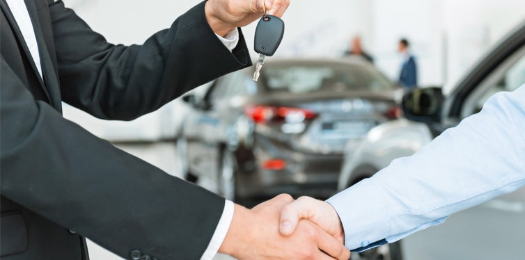 renting a vehicle