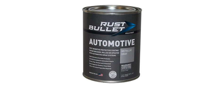 rust bullet rba53 automotive rust inhibitor paint