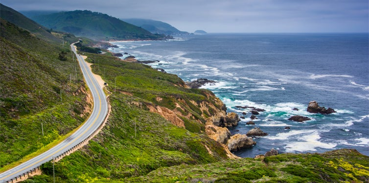 the pacific coast highway road trip