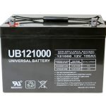 universal ub121000 45978 12v 100ah deep cycle agm battery