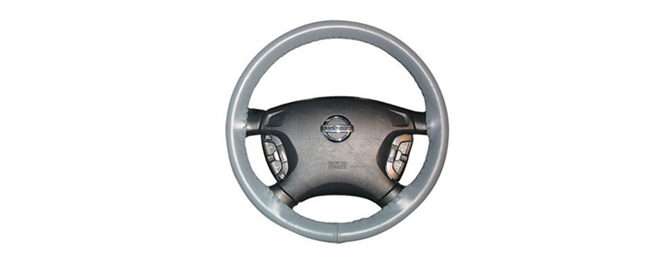 wheelskins genuine leather steering wheel covers