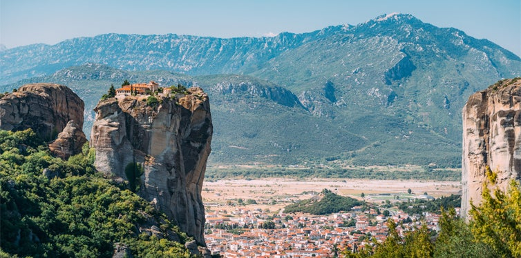 Athens to Meteora, Greece