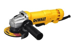 DEWALT DWE402 Paddle Switch Angle Grinder