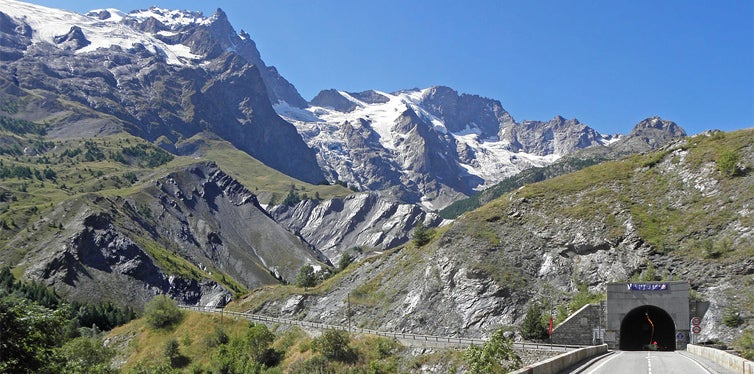 La Route de Grandes Alpes, France