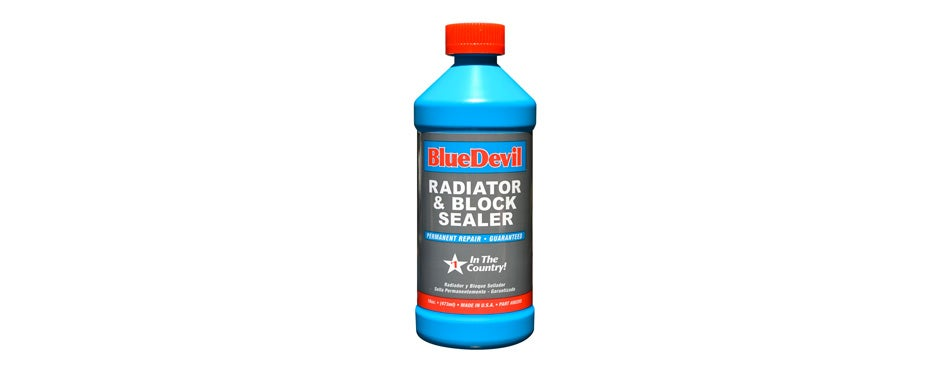 bluedevil radiator & block sealer