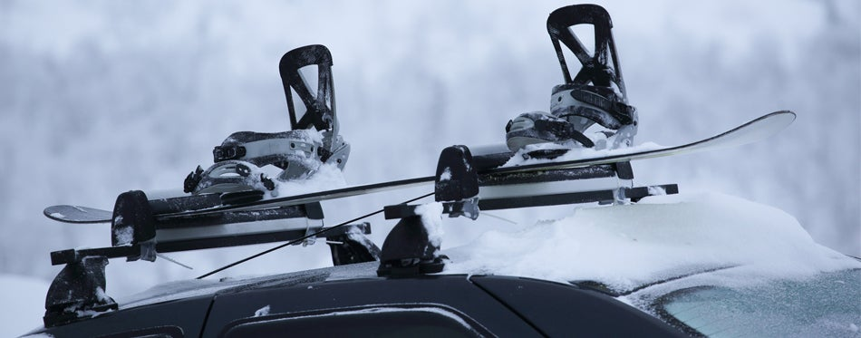 car ski carrier