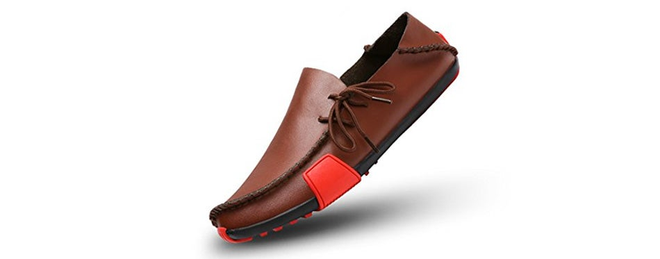 ceyue men's driving shoes casual leather penny loafers