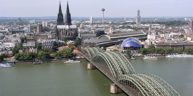 cologne to berlin, germany