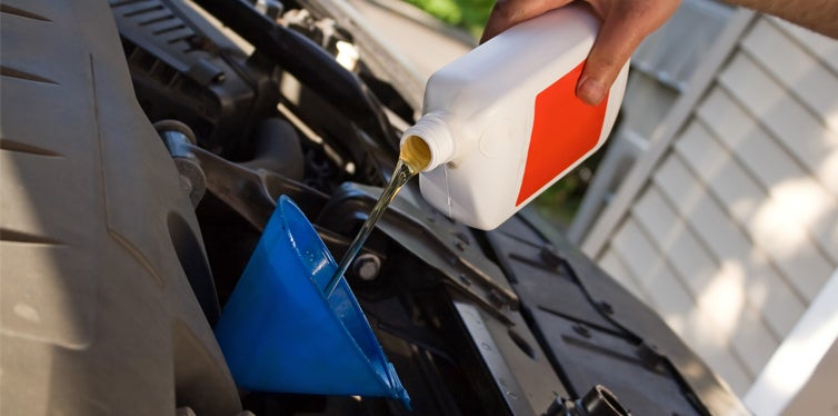 fill car oil