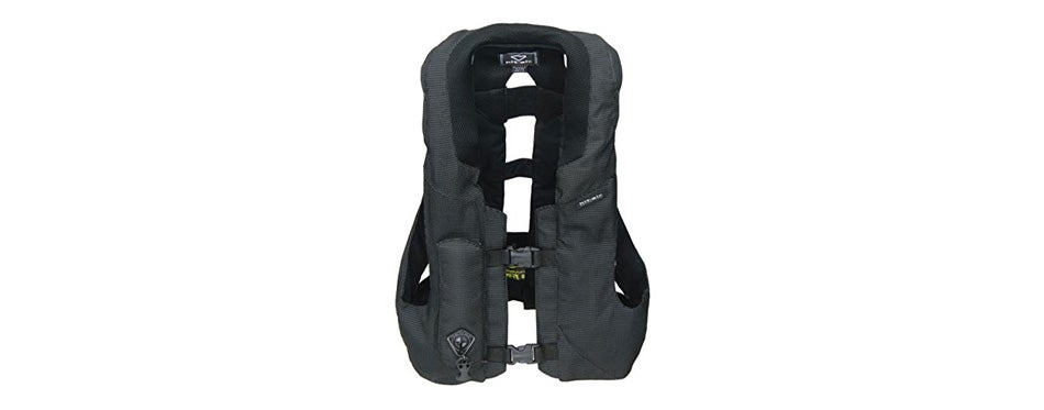 hit air mlv-rc motorcycle light weight airbag vest