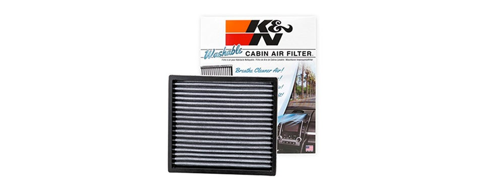k&n vf2000 washable & reusable cabin air filter