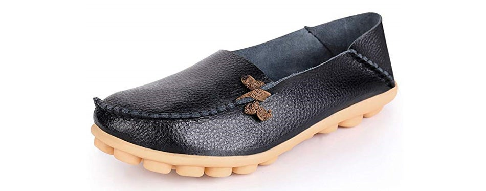 labatostyle women's casual leather driving moccasins flats shoes