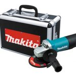 makita 9557pbx1 angle grinder with aluminum case