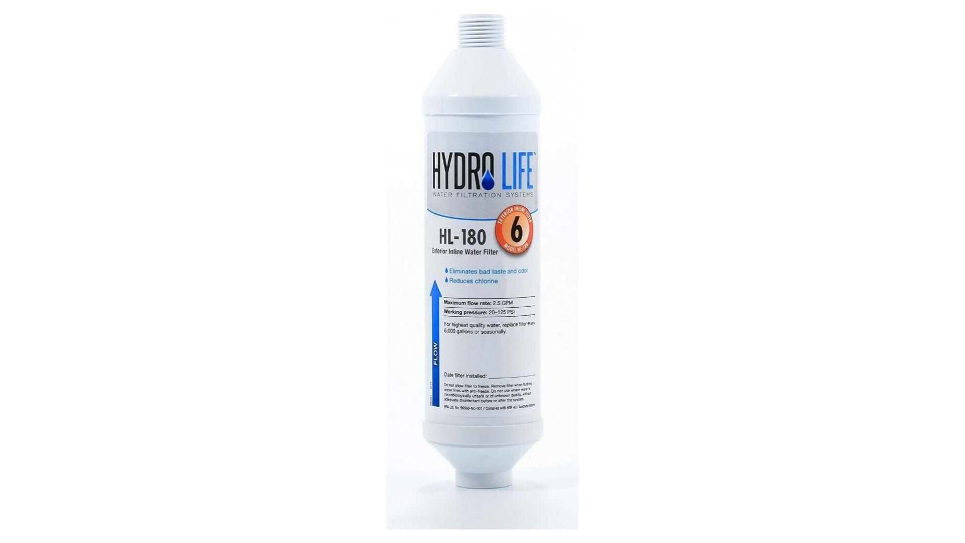 Hydro Life Disposable Inline Hose Filter