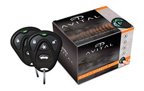 avital 4103lx remote car starter with two 4-button remote