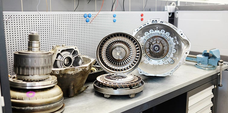 Torque Converter on the table