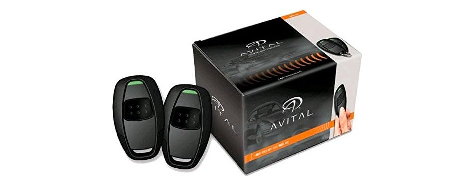 avital 4113lx remote car starter with two 1-button remotes