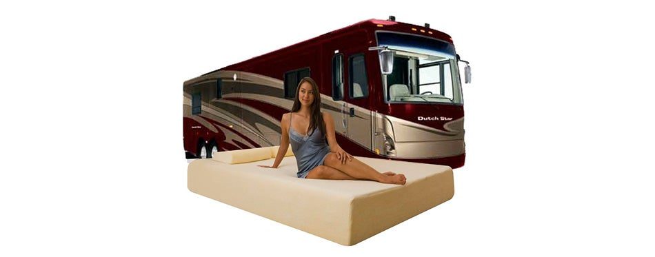 dynasty mattress deluxe memory foam short mattress for rv