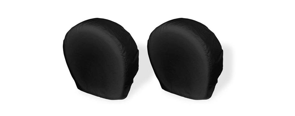explore land rv tire covers 2 pack