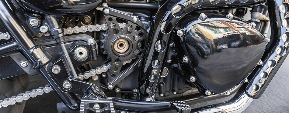 gear of motorcycle