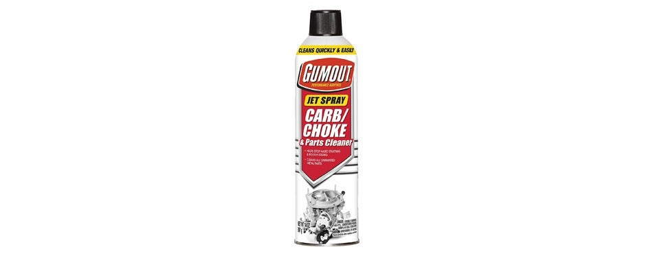 gumout carb and choke cleaner