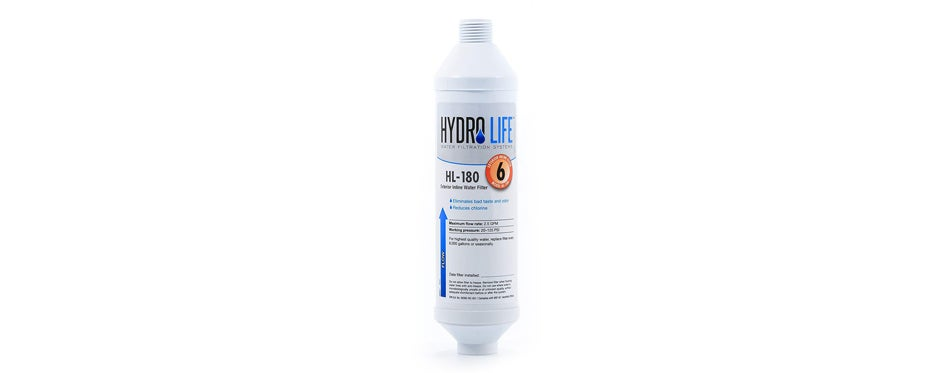 hydro life water filter for rv