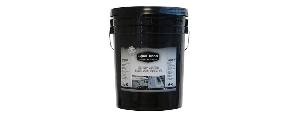 liquid rubber rv roof coating and sealant