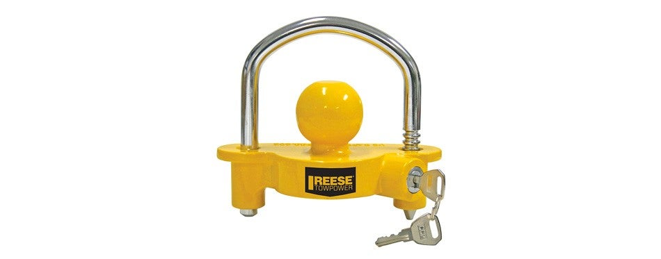 reese towpower 72783 universal trailer hitch lock
