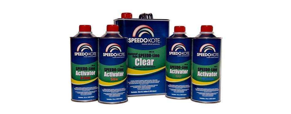 speedokote automotive clear coat fast dry