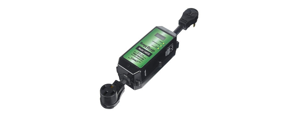 surge guard with lcd display