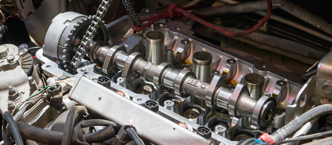 what does a camshaft do