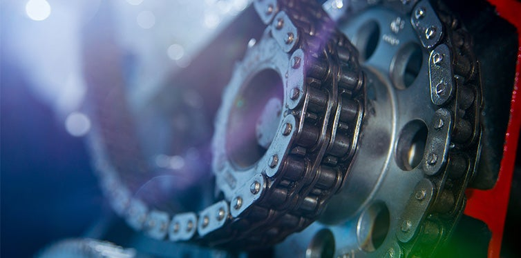 Timing chain of engine