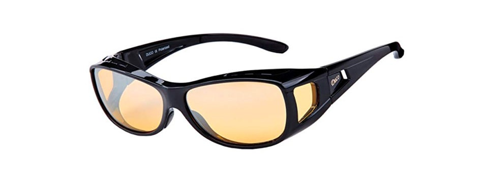 duco night vision polarized driving glasses