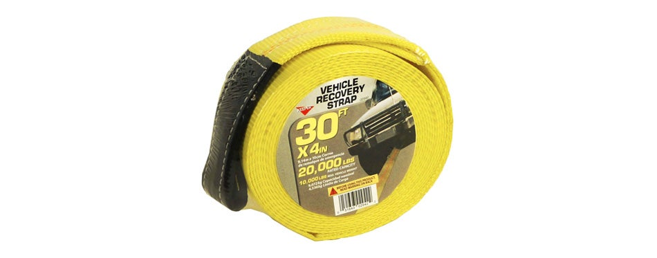 keeper recovery tow straps