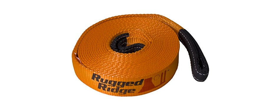 rugged ridge premium recovery tow straps
