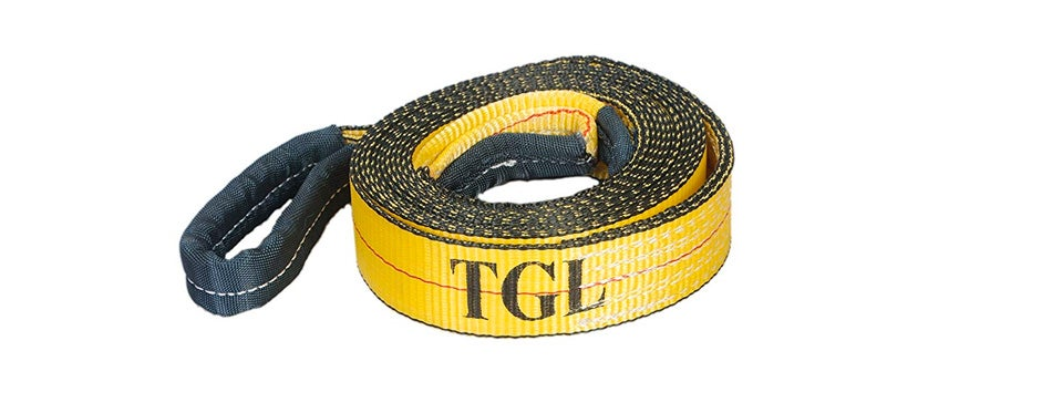 tgl tow straps with reinforced loops