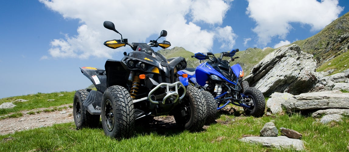 what is the difference between a utv and atv
