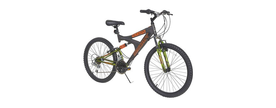Dynacraft Gauntlet Boys' Dual Suspension 21-Speed Bike
