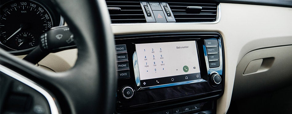 Google Android Auto car display