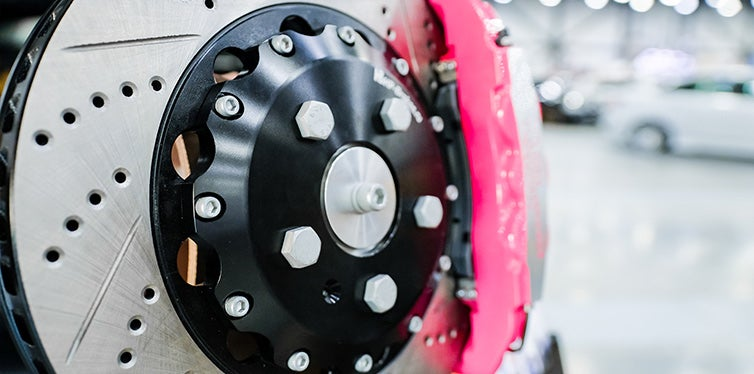 Sports brake discs for the car